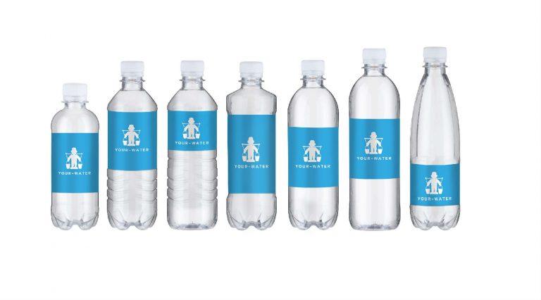 vand med tryk