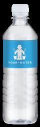 vandflasker med logo