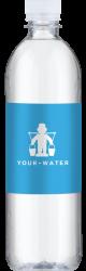 vand med logo 0,6 liter
